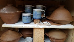 BreadPots in Kiln