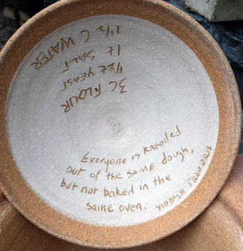 BreadPot with quote